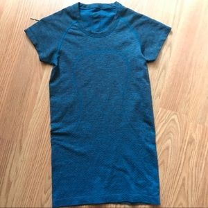 "Lululemon ""Run with heart"" shirt"